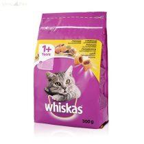 Whiskas 300 g száraz csirkehússal