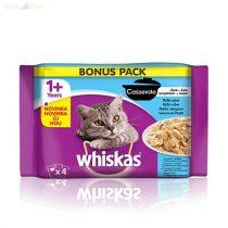 Whiskas 4 pack Casserole halas menü