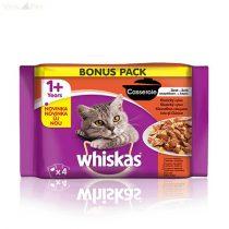 Whiskas 4 pack Casserole húsos menü