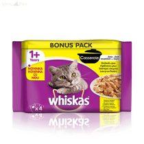 Whiskas 4 pack Casserole szárnyas menü