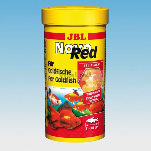 JBL NovoRed 100 ml lemezes főeleség aranyhalaknak