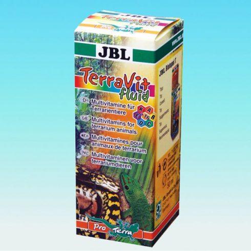 JBL TerraVit fluid 50 ml multivitamin hüllőknek