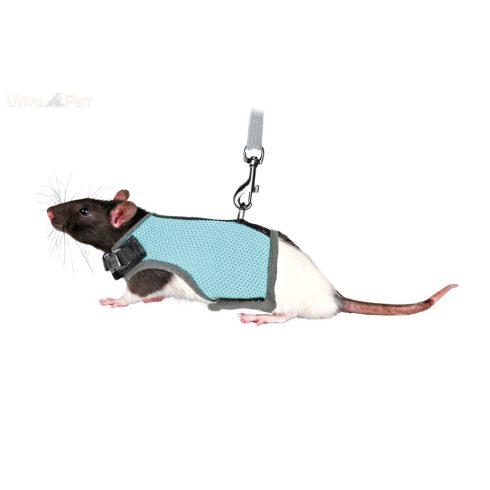 TRIXIE hám mellényes+póráz patkány